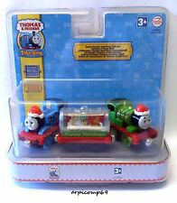 Christmas Santa Thomas & Santa Percy Train Set THOMAS & FRIENDS Take N' Play NEW