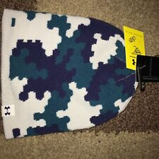 NWt Under Armour Boys 4-in-1 Graphic Beanie Winter Hat 1262198 $25