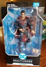 DC MULTIVERSE MCFARLANE SUPERMAN RED SON! New-In Hand - Ready to ship