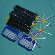 Bristle & Beater side Brush, filter,screws replacementfor Roomba Aerovac 600 660