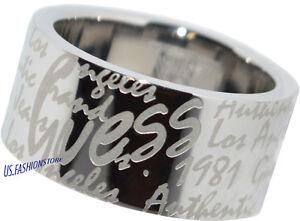 GUESS Schmuck Damen Ringe Edelstahl Silber Logo Ring USR81002-56  17,8 mm