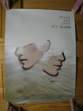 Tegan And Sara Poster Signed by Artists Get Along