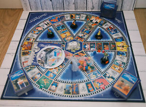 PARKER TRIVIAL PURSUIT DVD GAME DISNEY EDITION - COMPLETE - INTERACTIVE BOARD