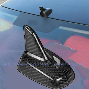 for Audi A3 roof style A4 A5 A6 Q3 Carbon fiber shark fins decorated antenna