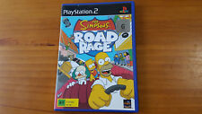 The Simpsons Road Rage - Sony PS2 PlayStation 2