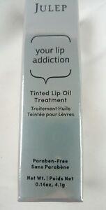 JULEP ❤ Your Lip Addiction Tinted Lip Oil Treatment CRAVE Full Size .14 oz BNIB
