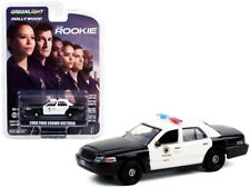 2008 Ford Crown Victoria Police Interceptor Black & White (LAPD)1/64 Diecast Car