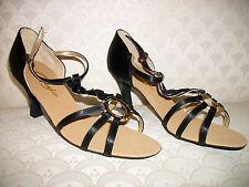 "Latin Dance Shoes Capezio Sandal Scorpion BR27S 3"" NIB"