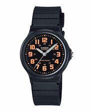 MQ-71-4B Black Orange Casio Watches Unisex Resin Band New Model Analog Quartz