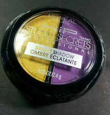 LOREAL PARIS HIP DUO EYESHADOW 538 FLAMBOYANT (yellow/plum)