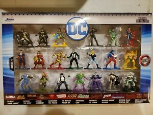 DC Comics Die Cast Metal Collectible Figure 20 Pack Wave 4 Sealed Unopened