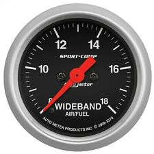 Autometer Sport-Comp Wideband AFR Gauge 8:1-18:1 2-1/16in
