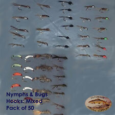 UFS Fly Pack General and Modern Nymphs and Bugs Mixed 50 Pack