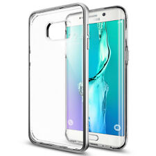 Spigen Galaxy S6 Edge+ Neo Hybrid Crystal Silver Premium Case (SGP11719)