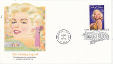 POSTAL HISTORY FIRST DAY EVENT COVER MARILYN MONROE MOVIE STAR FLEETWOOD MM9