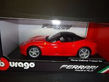 Bburago Ferrari California Closed Top Red 1/18