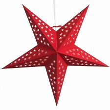 Paper Star Light Lamp Lantern with 12 Foot Power Cord Included