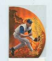 ALEX RODRIGUEZ  1999 Fleer Metal Universe Planet Metal Insert Card #PM-1