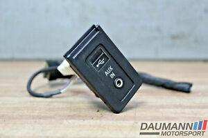 USB AUX in BUCHSE Original + BMW 5er E60 E61 & LCI F25 + USB Stecker + 9138402