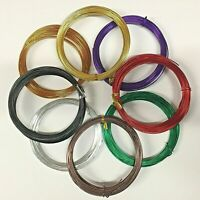 B1G1Free Mask Making Aluminum Craft Wire Jewelry Color Round Wrap Choose Color