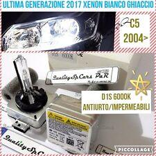 2 Lampadine XENON D1S CITROEN C5 2004> fari HID 6000K RICAMBIO Luci Bianco Ghia