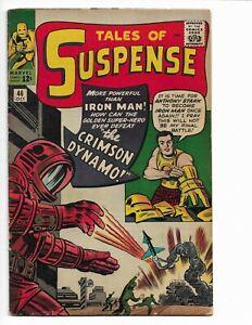 TALES OF SUSPENSE 46 - VG+ 4.5 - 1ST APPEARANCE OF CRIMSON DYNAMO (1963)