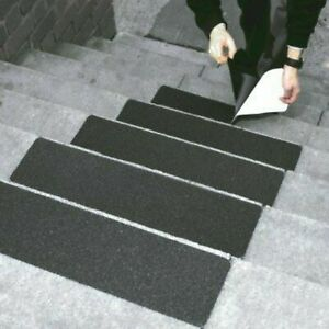 Anti Non-Slip Tape Black Strong Adhesive Weatherproof Treads Steps Stairs Ramps