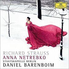 Netrebko / Barenboim - Richard Strauss (Vier Letzte Lieder) [New CD]