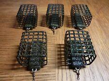 5x 120g Futterkorb mit Anti Tangle von SPRO Futterkörbe Angelblei Hohe Qualität
