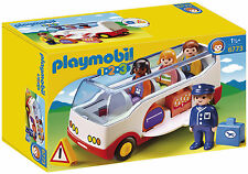 PLAYMOBIL 123 Airport Shuttle Bus 4 Characters 6773