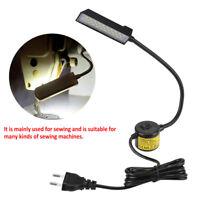 Pliable Lampe 30 LED Travail Machine à Coudre Eclairage Lumière Base Magnétique