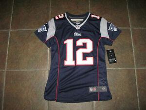 AUTHENTIC! Tom Brady New England Patriots Nike On Field Jersey Size S Small NEW!