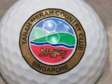 TANAH MERAH SINGAPORE  COUNTRY CLUB GOLF COURSE LOGO GOLF BALL