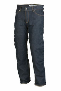 Mens Bull-it Covec Cafe Blue SR6 Motorcycle Jeans