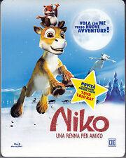 Blu-ray + Dvd **NIKO ♥ UNA RENNA PER AMICO** ediz speciale 2 dischi slipcas 2009