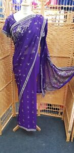 Indian Saree  Bollywood wear Designer Fancy Wedding Party wear Sari