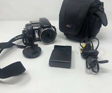 Sony Cyber-shot DSC-H9 8.1MP Digital Camera - Black W/ Camera Bag and a Charger