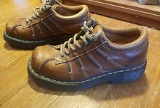 Dr Martens Brown Shoes Size US 7 Leather Lace-up Air Wair Cushion 9A96 Mens FWUW