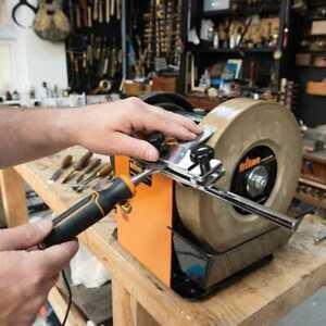 120W Whetstone Sharpener Twss10 Workshop Sharpeners Triton 949257