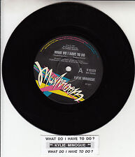 """KYLIE MINOGUE  What Do I Have To Do  7"""" 45 rpm record + juke box title strip"""