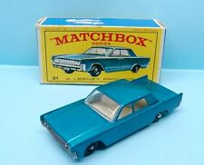 MATCHBOX LESNEY / SERIE 75 / N° 35C1 LINCOLN CONTINENTAL