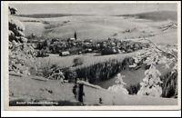 Oberwiesenthal Sachsen DDR Postkarte 1950/60 Gesamtansicht im Winter Schnee