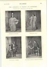1894 Iphigenia In Tauris At Cambridge Frank Saker As Puck
