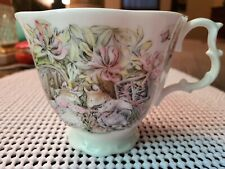 Royal Doulton Brambley Hedge Teacup Summer by Jill Barklem 1983 Beautiful Detail