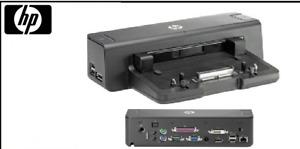 HP Docking Station HSTNN-I11X  Port Replicator 575324-001  581597-001 VB041AA