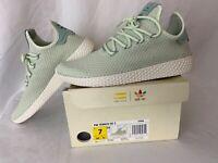 Adidas Originals PW Tennis Hu Pharrell Williams Linen Green Size 7