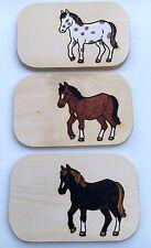 Frühstücksbrett Pferd Holz Namen Gravur Schneidebrett Frühstücksbrettchen Vesper