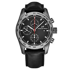 Porsche Design Men's Chronotimer Series 1 Strap Automatic Watch 6011.1040.6113