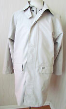 "REGATTA Men's BUSINESS Rain Coat Mac CREAM Long Sleeve Jacket  LARGE 42"" CHEST"