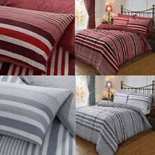 Thermal Flannel Duvet Cover Sets Single Double King Size New Warm Soft Bedding